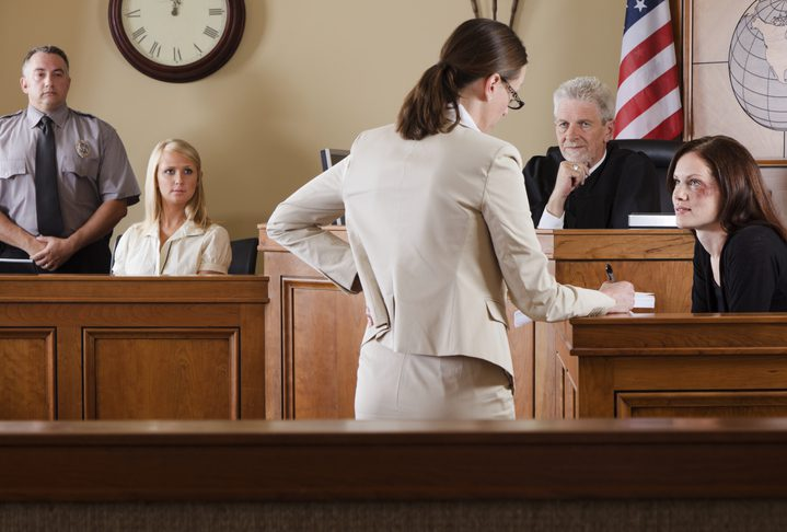 Burnette & Payne Attorneys at Law | Rock Hill, SC | lawyer in courtroom